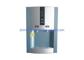 Bottled Type Countertop Hot And Cold Water Dispenser With Inner Tap Compressor Cooling