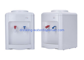 China Electrical Cooling Office Hot Cold Water Dispenser White Color ABS Plastic Housing supplier