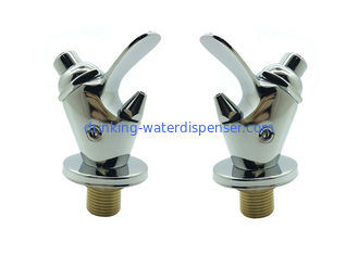 Push Button Drinking Fountain Bubbler Faucet , Public Water Fountain Bubbler Parts