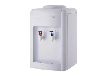 China White Color Desktop Water Dispenser , Tabletop Water Dispenser For Home / School factory