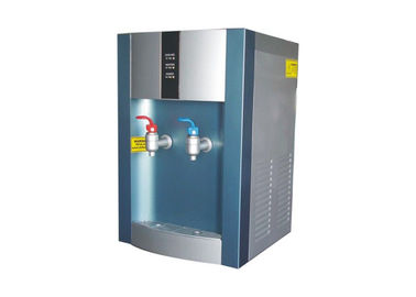 China Silver Blue Color Tabletop Hot Cold Water Dispenser ABS Plastics Housing Material factory